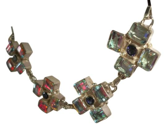 Other Rainbow Topaz Sterling Silver Fine Bracelet