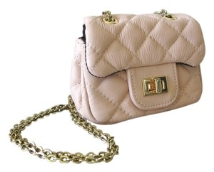Other Pink Mini Mini Quilted Mini Quilted Cross Body Bag