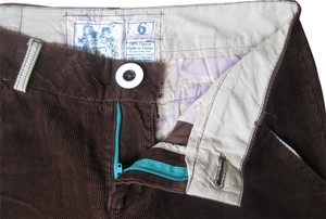 Trovata Corduroy Trouser Pants Chocolate Brown