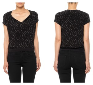 JOE'S Jeans Top Black floral