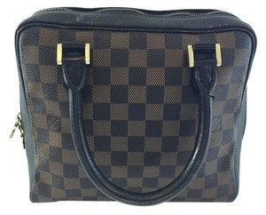 Louis Vuitton Damier Canvas Brera Pm Satchel in Damier ebene