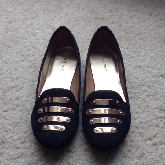 Nine West Black Flats