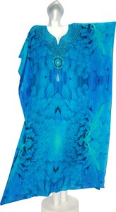 Angel. Maxi Dress by Victoria Luxury Silk Kaftan Kaftan