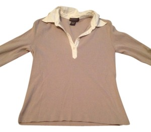Banana Republic Top Tan and winter white