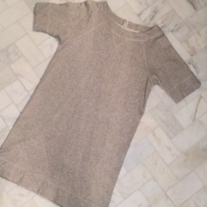 J.Crew short dress Grey on Tradesy