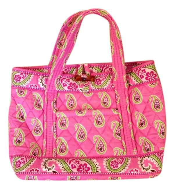 Item - Pink & Green Quilted Cotton Baguette