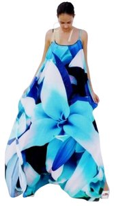 Picasso Maxi Dress by Victoria Luxury Silk Kaftan Crystal 100%