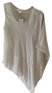 Helmut Lang Top Light Silk Gray