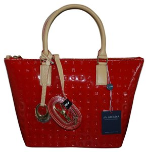 Arcadia Tote in Red