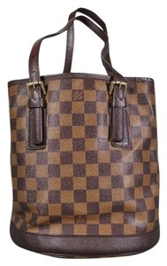 Louis Vuitton Lv Damier Tote in Brown