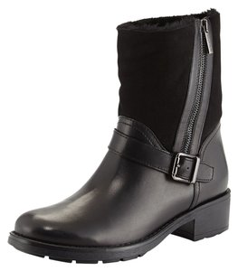 Aquatalia by Marvin K. Shearling Leather BLACK Boots
