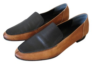Other Loafer Loafer Menswear-inspired Menswear Inspired camel and black Flats