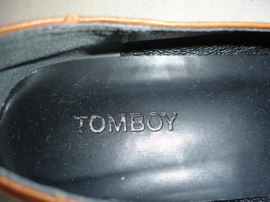Other Loafer Loafer Menswear-inspired Menswear Inspired camel and black Flats Image 5