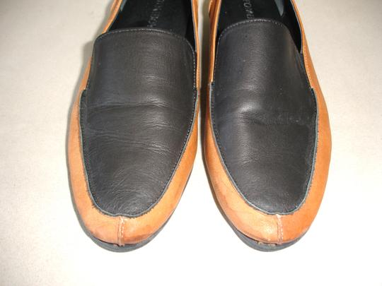 Other Loafer Loafer Menswear-inspired Menswear Inspired camel and black Flats Image 6