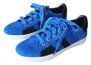 Zara Sneakers bright blue Athletic