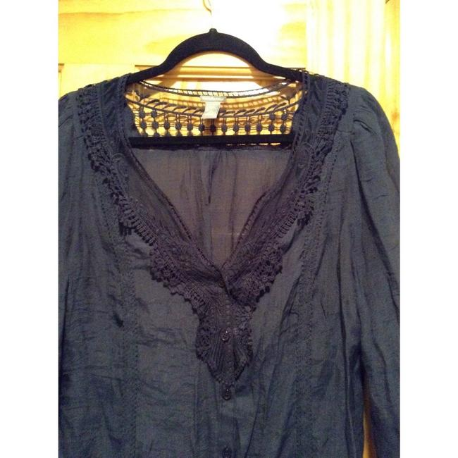 Charlotte Russe Top Navy blue Image 1