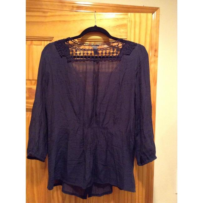 Charlotte Russe Top Navy blue Image 2