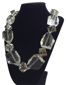 Denise Marts for Studio 11 Chunky Runway Faceted Acrylic Bead Necklace
