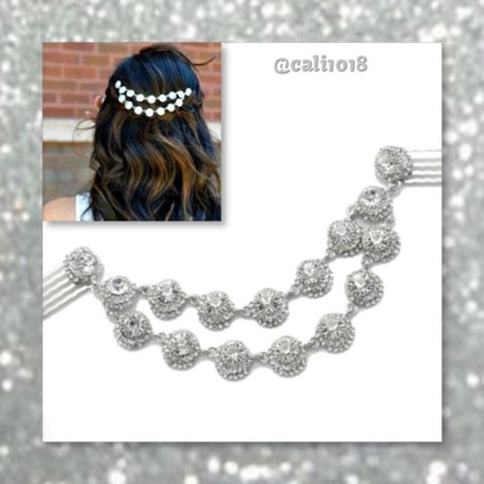 Preload https://img-static.tradesy.com/item/11633116/silver-hair-accessory-0-0-540-540.jpg