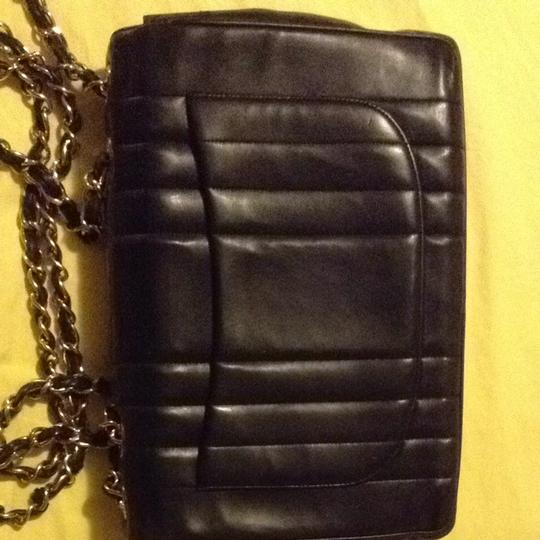 Chanel Vintage Jumbo Classic Flap Vertical Shoulder Bag Image 6