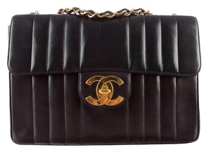 Chanel Vintage Jumbo Classic Flap Shoulder Bag