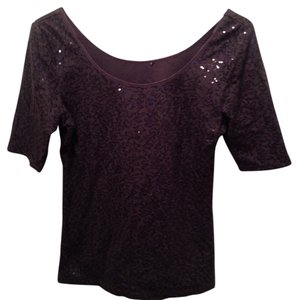 Other Top Black Sequin