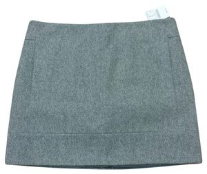 J.Crew Mini Skirt Heather gray