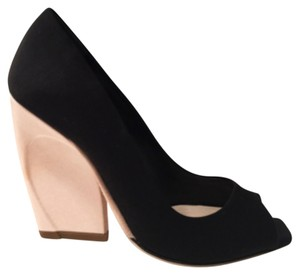 Dior Black/pale pink Pumps