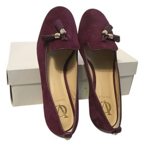 Vince Camuto Suede All Leather Tassels Pink Flats