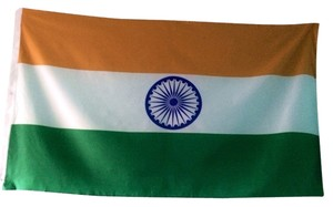 Other Huge Indian Flag 3 x 5 feet India Green Orange Culture Chakra Pride