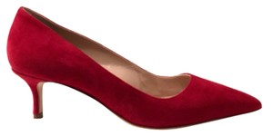 Manolo Blahnik Bordeaux Red Pumps