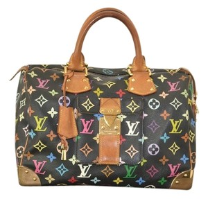 Louis Vuitton Speedy 30 Multicolred Hobo Bag