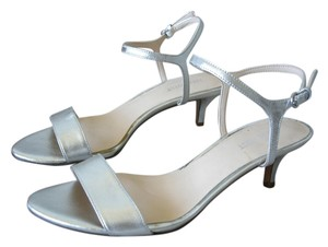 Nine West Low Heel Low-heel silver Sandals
