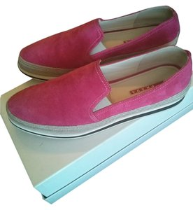 Prada Suede Slip On hot pink Athletic