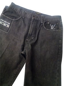 Louis Vuitton Mens Paris Straight Leg Jeans-Acid