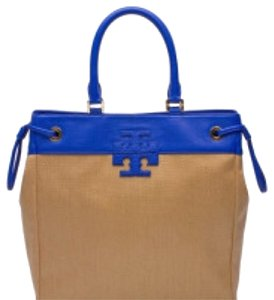 Tory Burch Satchel in Natural/black