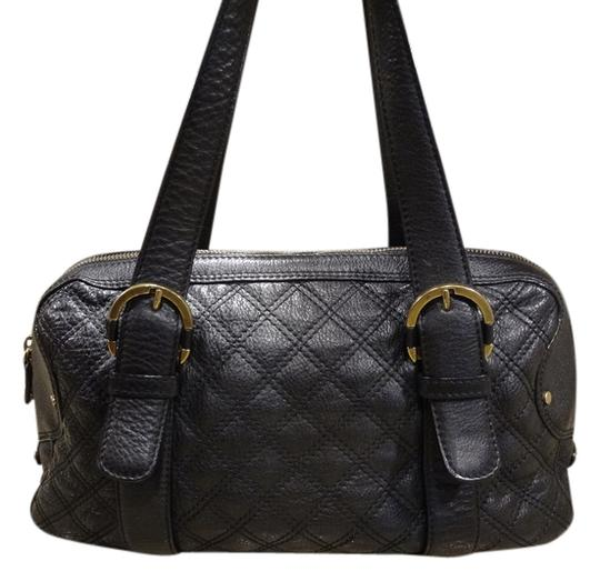 Preload https://img-static.tradesy.com/item/11636161/michael-kors-purse-quilted-satchel-rare-style-black-leather-shoulder-bag-0-1-540-540.jpg