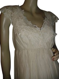 BCBGMAXAZRIA short dress milky beige on Tradesy