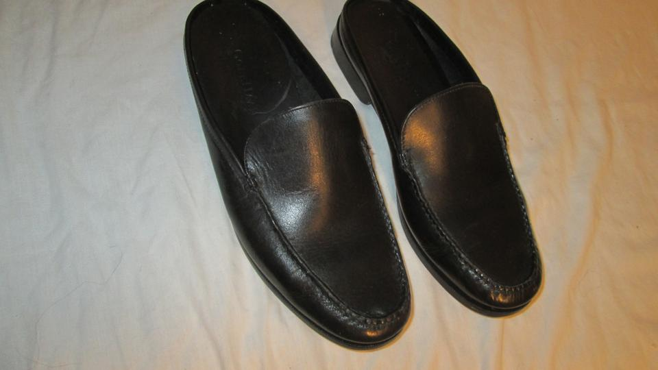 Cole Haan Black Black Haan Leather Casual Mules/Slides 7514b7