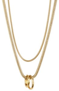 Diane von Furstenberg Brand New. Gold Plated Necklace