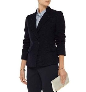 Vince Camuto Vince Vx21190663 Womens Navy Wool Lined Slim Fit Suit Jacket Blazer Coat
