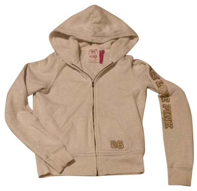 Item - Gold and Crystal Sweatshirt/Hoodie Size 4 (S)