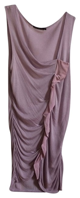 Ella Moss Sleeveless Ruching Top Lilac