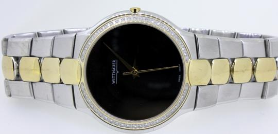 Wittnauer Wittnauer Gold Plated Stainless Steel Two Tone Biltmore Men's Watch Image 7