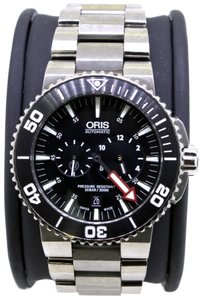 Oris Aquis Regulateur Der Meistertaucher Black Dial Titanium Men's Watch.