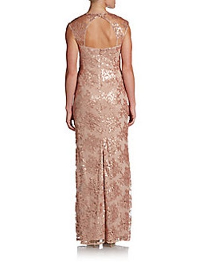 Adrianna Papell Petal Sequined Gown 0491606452292 Dress