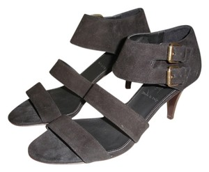 J.Crew Gladiator Suede Suede black Sandals