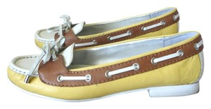 Etienne Aigner Yellow Loafer Yellow Loafers Loafers Comfortable Comfortable Loafers Loafers Loafers multi-color Flats