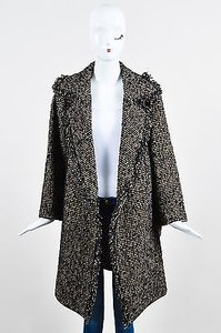 Etro Chunky Wool Tweed Coat