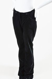 Altuzarra Velvet Whitney Wide Leg Trousers Pants